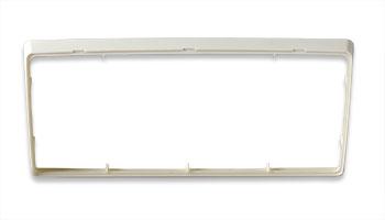 Trim Plate - White
