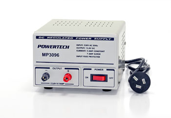 POWER SUPPLY 13.8V 5A