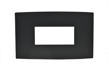 Dress Plate for Room Station - Black