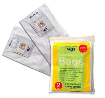Genuine VALET White Max-Flo HEPA Vacuum Bags 2 pack