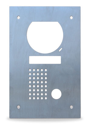 Alloy Flush plate