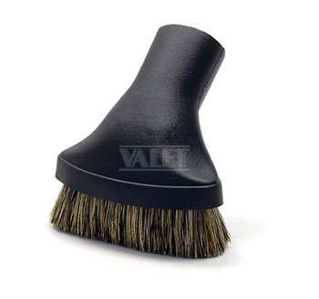 Deluxe dusting brush w/natural fill - oval brush